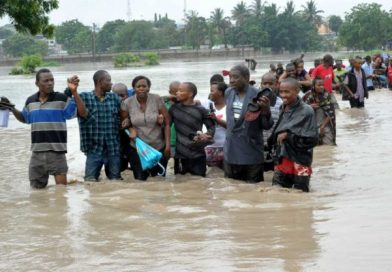 Tanzania floods kill five, leave around 2,500 homeless